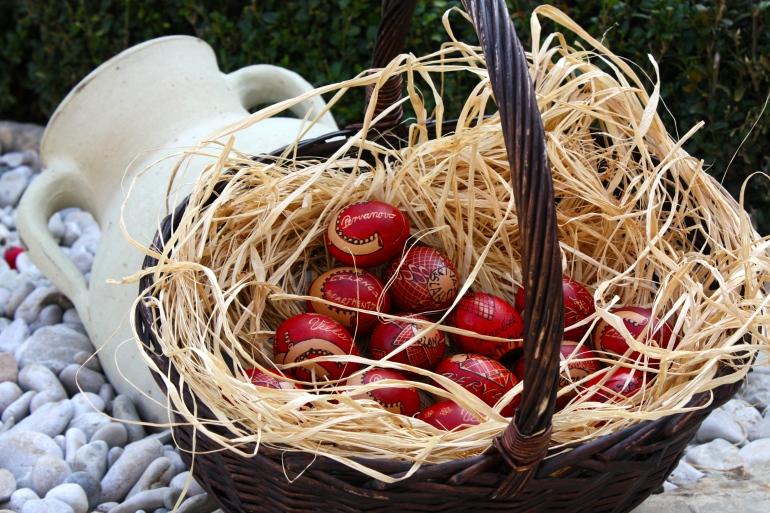 Dubrovnik style Easter eggs