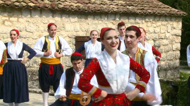 Traditional dance of Dubrovnik