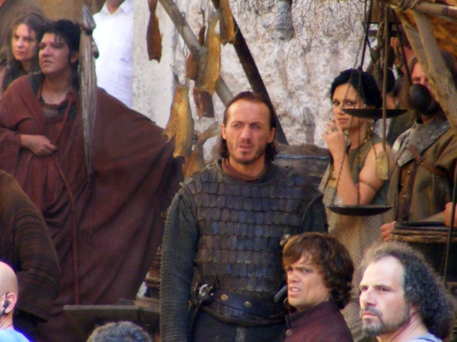 At King's Landing during GOT filming
