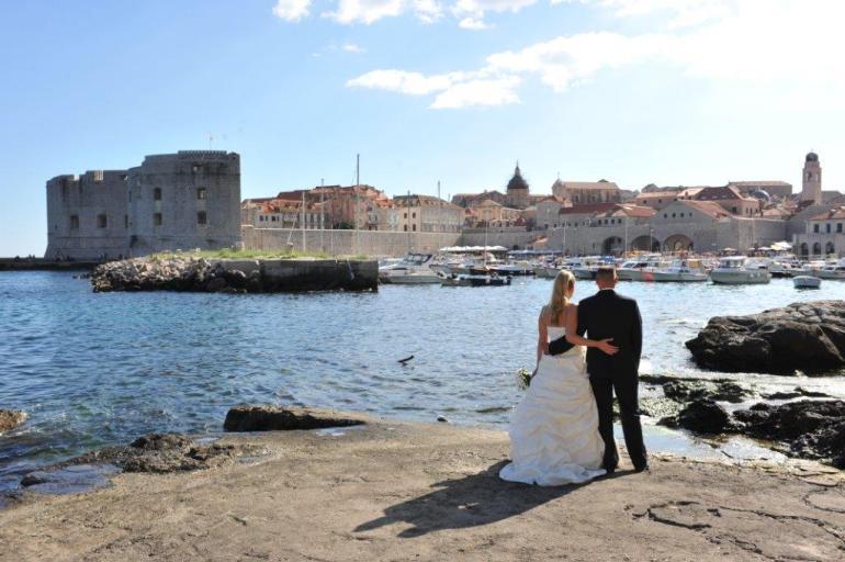 Wedding in Dubrovnik, Croatia