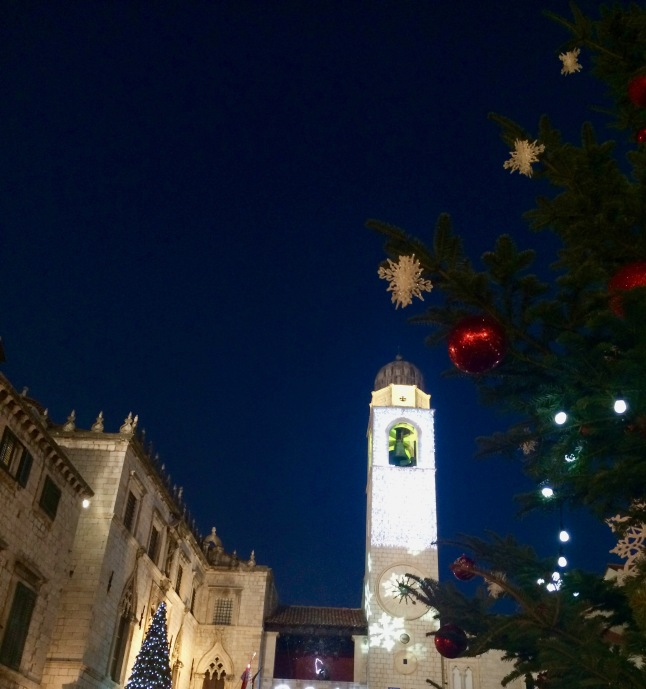 Dubrovnik in Christmas spirit